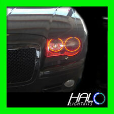 2005-2010 CHRYSLER 300C RED PLASMA LIGHT HEADLIGHT HALO KIT by ORACLE