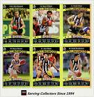 2010 AFL Teamcoach Trading Card Gold Parallel Team Set Collingwood (12)