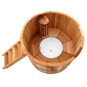 Outdoor Cedar Wooden Electric SpaNet Hot Tub - *RRP $15,990*
