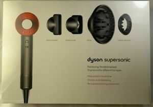 220V non US version Dyson HD03 Supersonic Hair Dryer in Red/Iron
