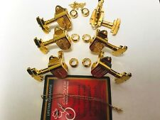 151GM Grover Imperial 3+3 Gold Guitar Tuning Machines Jazz/Archtop Gretsch