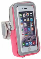 DeLong Cell Phone Armband Case 5.5 Rose-bengal For Iphone 6 6s Plus Samsung For