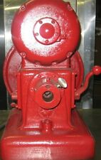 Working Vintage Antique Hobart Power Head Grinder Cheese Meat. 3 phase 220V 2 HP