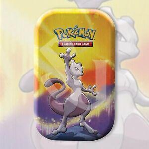 Pokemon TCG: MEWTWO KANTO POWER Mini Tin | FACTORY SEALED