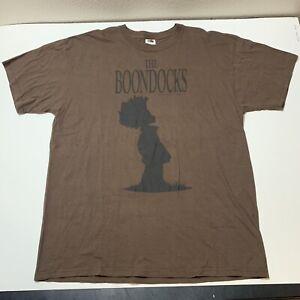 The Boondocks Televison Series Promo T Shirt Huey Cartoon Network Men's XL