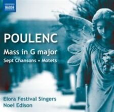 Poulenc: Mass in G major - Sept Chansons - Motets, New Music