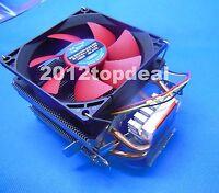 Dual Fan CPU Cooling Heatsink PC Cooler for AMD AM2 + AM3 + FM1 FM2 LGA 1156 775
