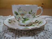 Delphine Bone China Tea Cup & Saucer Made in England