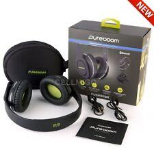 PureGear PureBoom Wireless Headphones - 18 Hours Use time - Android+iOS - Black