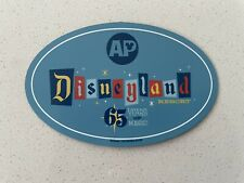 New ListingDisney Annual Passholder Exclusive Disneyland Resort 65th Anniversary Ap Magnet