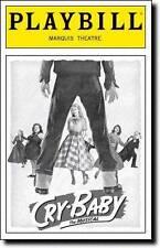 Playbill Cry-Baby Harriet Harris Christopher J. Hanke  James Snyder  Alli Mauzey