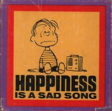 Happiness Is A Sad Song(Hardback Book)Charles M.Schulz-Determined Pr-Good