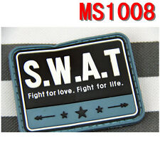 HOT Original Special Weapons Blue S.W.A.T PVC Rubber Magic Patch Paste Stock