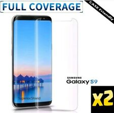 x2 Full Screen Cover 3D Plastic Film Protector Samsung Galaxy S9 Quick Delivery