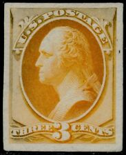 #147Tc3i (Yellow Orange) Trial Color Plate Proof On India Paper Bq5872