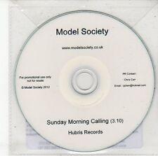 (DV430) Model Society, Sunday Morning Calling - 2012 DJ CD
