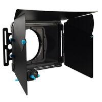 DSLR Matte Box FOTGA DP3000 Sunshade Donuts F 15mm RodRrail Rig 5D II III Camera