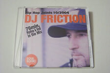 DJ FRICTION - HIP HOP JOINTS 10/2004 CD Max Herre Freundeskreis Dean Dawson RAR
