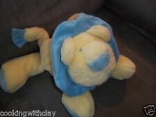 TOYS R US LION PLUSH DOLL FIGURE BABY BEANBAG ADORABLE NURSERY MY IST LOVE TOY