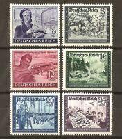 DR Nazi 3rd Reich RARE WW2 Stamp Girl Feldpost OffRoad HitlerJugen Glider School