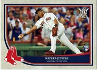RAFAEL DEVERS Rookie RC 2018 Topps Big League Boston Red Sox