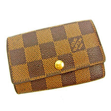 Louis Vuitton Key holder Key case Damier Brown Woman unisex Authentic Used Y6929