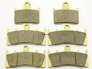 MC Front Rear Brake Pads For Suzuki GS 1200 SSK1/ZK1 (GV78A) 2001-2002 Brakes