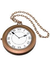 Victorian Steampunk Jumbo Clock Medallion One Size Mens Fancy Dress Accessory