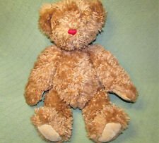 """VINTAGE 21"""" VERMONT TEDDY BEAR 1997 FULLY JOINTED STUFFED ANIMAL PLUSH TAN TOY"""