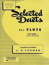Selected Duets Vol 1 Flute Easy/medium Music Book