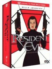 RESIDENT EVIL COLLECTION  5 DVD  COFANETTO  HORROR
