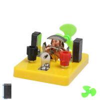 Fun Mini DIY Motor Fan Assmeble Model Kit Toy Physics Educational Experiment Hot