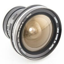 Canon FL 19mm f3.5 R manual focus prime lens for Canon FL FD mount
