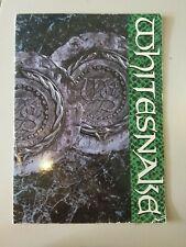 WHITESNAKE 1987-88 TOUR BOOK PROGRAM