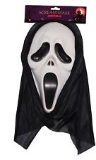 Halloween Offical Scream Ghost Face Mask Fancy Dress Costume Party Accessories