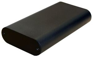 Black Aluminum Project Box Enclosure Case Electronic DIY 130x70x24mm_Small