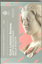 coffret blister BU 2 euros san marino saint marin 2018 gian lorenzo bernini