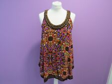 F&F floral blouse tunic Size 10 BNWT Brand New