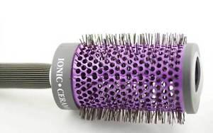 1 Piece Ionic Bristles Ceramic Barrel Thermal Brush