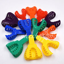 12 Pcs Dental Material Plastic Impression Trays for Adult / Children Lagre/Small