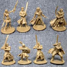 Lot 8 Pcs GOLD D&D Dungeons & Dragon Marvelous Miniatures DND Toy Game Figure