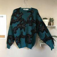 Vtg Bugatchi Uomo Sweater Mens Size M EUC