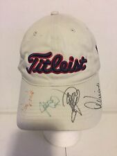 LEE TREVINO, JERRY PATE SIGNED TITLEIST CAP