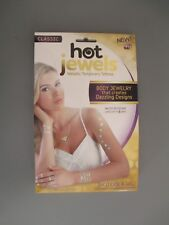 As Seen On Tv Classic Hot Jewels Temporary Tattoos Body Jewelry Tribal 4 Sheets