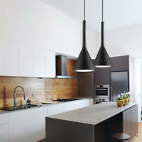 Black Pendant Lighting Bar Lamp Kitchen Pendant Light Room Modern Ceiling Lights