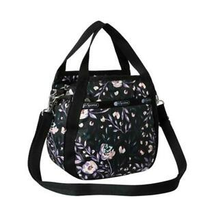 LeSportsac Classic Collection Small Jenni Crossbody in Dancing Roses Noir NWT