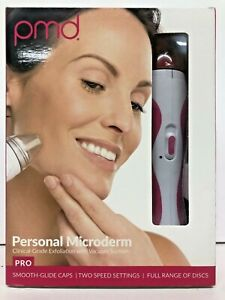 Personal Microderm PRO Smooth Glide Two Speeds Exfoliation Vacuum Suction-A3