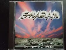 SHAZAM  -  THE POWER  OF  MUSIC ,  CD  1996 ,  EURODANCE, POP, ELECTRONIC,  RARE