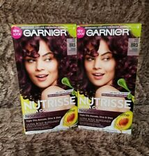 GARNIER Nutrisse Ultra Color Creme Permanent Haircolor BR3 Intense Burgundy (2)