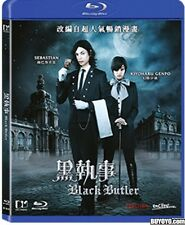 Black Butler(2014)Movie Blu-Ray[Region A] Japanese Live Action Film English Subs